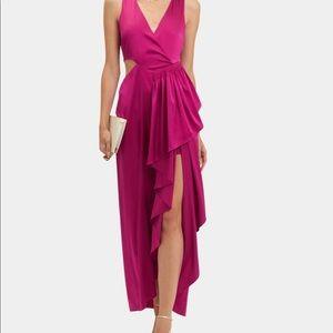 A.L.C.  cascading dress